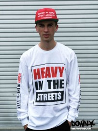 Heavy In The Streets Long Sleeve Tee