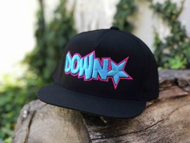 Downstar OG Logo Miami Vice 5 Panel Snap Back